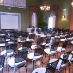 Sala Tinao - Montaje en teatro - HDA Meetings & Events