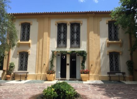Fachada Casa Palacete