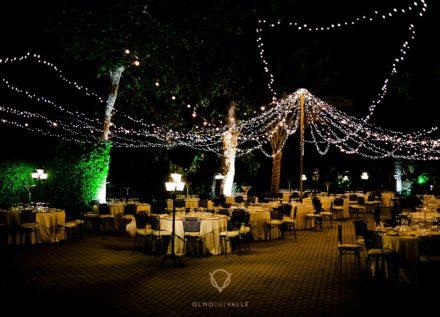 Boda de noche en el Jardín de Verano