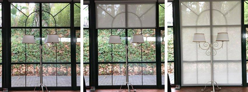 Nuevos screens y lámparas de la Pérgola de Cristal